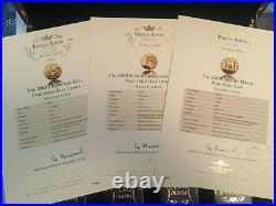 9ct Gold Coins London Mint Office Fabula Aurum Collection 12 X 1g Not Scrap