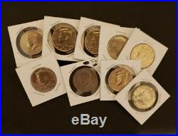 ASE, 90%, 40% silver coins, Error, BU, Proof, Coin collection 171 Coins Total