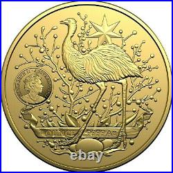 AUSTRALIA 2021 $100 Investment Coin Australia's Coat of Arms GOLD IN STOCK