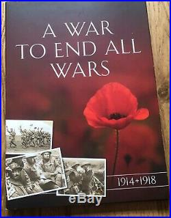 A War To End All Wars Complete Coin Collection Including Gold Double Crown