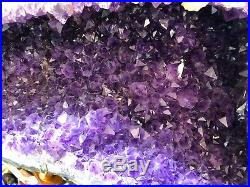 Amethyst Butterfly Wings Pirate Gold Coins Crystals Quartz Mineral Rock Geode