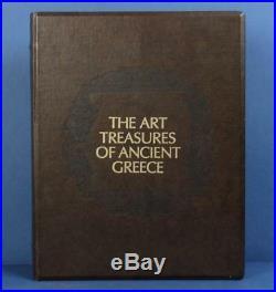 Art Treasures Ancient Greece Coin Medal Set Greek Gold On Bronze Franklin Mint