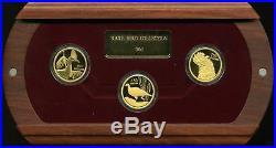 Australia 2004 2006 $150 Rare Bird Proof Gold 3-Coin Collection #0361 / 2500
