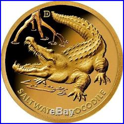 Australia's Deadly & Dangerous 2019 $1 Gold Prooflike 6-Coin Collection
