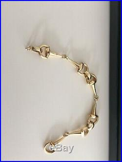 Authentic Roberto Coin Vintage Cheval Collection Earring And Bracelet Set 18k