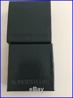 Authentic Roberto Coin Vintage Cheval Collection Earring /Bracelet Set Horsebit