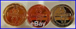 Bimtoy Tiny Ghost Coin Set (Bronze, Silver, And Gold) Bimcoin SDCC ECCC Rare HTF