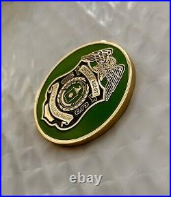 CIA Protective Operations Counter Assault Team CAT Special Agent Challenge Coin