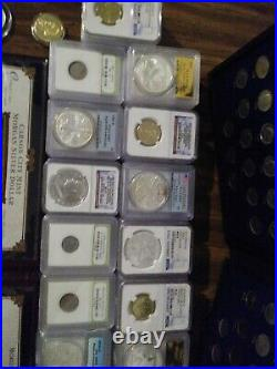 Coin Collection Lot silver rounds gold coin massive lot of silver coins