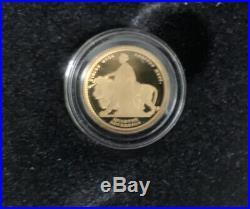 Collectible Ltd Edition Solid 24ct Gold Queen Victoria Sovereign Set 2019 BNIB