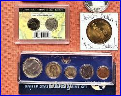 Collection Of Coins & Currency Sets Silver, Gold, Collectible Set #2