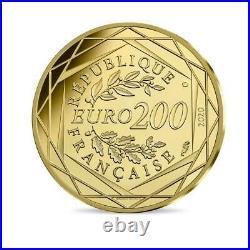 Collection les Schtroupmf 200 Euro Or Les Schtroumpf 2020 Numéro 2