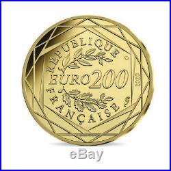 Collection les Schtroupmf 200 Euro Or la Ronde des Schtroumpf 2020