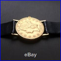 Corum 18kt Gold Coin Watch Automatic