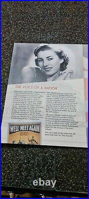 Dame Vera Lynn The Voice Of A Nation Limited Edition Gold Coin Collection