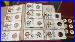 Disney 50th Anniversary 11-piece 1/10th OZ Gold Coin FULL Set