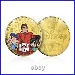 Disney Classic Collection 04 Limited Edition Collectable Gold Coin/Medal