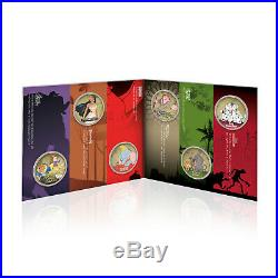 Disney Classics Collection Gold Coin / Medal Complete Pack 02