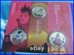 Disney Classics Collection Gold Plated Coins/medals Set Of 6
