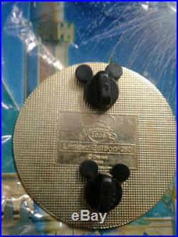 Disney pin, Princess Aurora, LE 250 Mystery, Jumbo, Gold Coin Series, VHTF rare