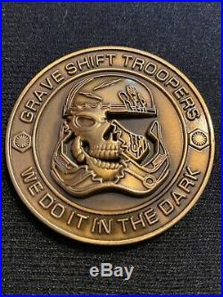 Disney's Hollywood Studios Galaxy's Edge Security Grave Shift Coin Gold Version