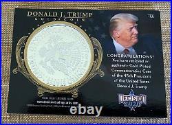 Donald Trump Decision 2020 Series 2 Gold Coin Card Tc6 Gold Foil Parallel #30/45