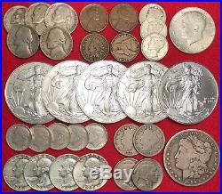 ELITE U. S. COIN COLLECTION BULLION LOT Gold 1 OZ. 999 SILVER EAGLE 100+ Coins