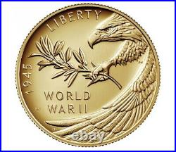 End of World War II 75th Anniversary 24-Karat Gold Coin CONFIRMED 20XG