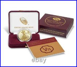End of World War II 75th Anniversary American Eagle Gold Proof CoinSHIPS ASAP