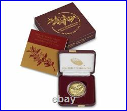 End of World War II US 75th Anniversary 24-Karat Gold Coin 20XG NEW Collectible