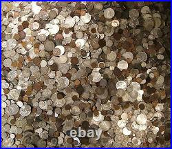 Estate Lot Sale-old Coins Gold Bullion. 999 Silver Treasure Collection Hoard