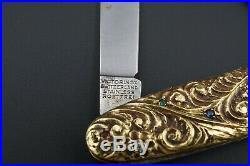 Ewald Kratz 18k Diamond Victorinox Folding Pocket Knife 78g Gold Coin Fob CO547