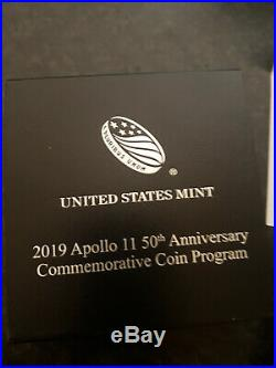 Extremely Rare! Apollo 11 50th Anniversary Silver/Gold 24K Curved LE of 169 Coin
