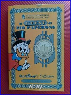 Extremely Rare! Disney Golden First Cent of Uncle Scrooge Coin Money Bin Vault