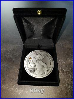 Extremely Rare! Walt Disney Uncle Scrooge First Gold Nugget LE of 500 Big Coin