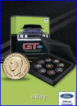 Ford GT Collection Of Coins On Gold Plated Pennies-Very Limited Edition-HURRY