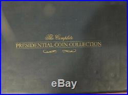 Franklin Mint Presidential Gold Coin Collection Missing 9 coins