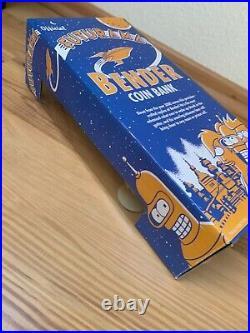 Futurama Golden Bender SDCC 2007 Exclusive Vinyl Coin Bank Limited 240 von Funko