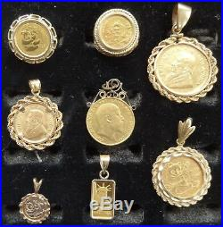 GOLD COIN JEWELRY COLLECTION 5 Troy Ounces @ $1999.99 per oz. For all