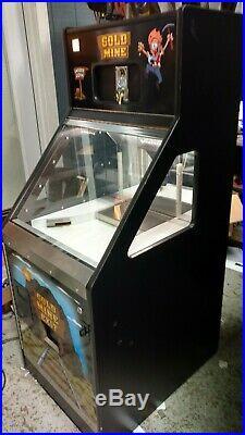 GOLD MINE COIN PUSHER QUARTER SLIDER arcade game