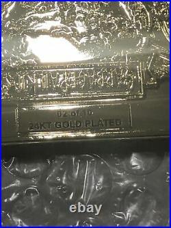 Garbage Pail Kids Mick Dagger 24KT Gold Plated GPK Challenge Coin /10 L@@k