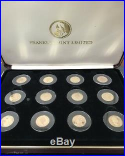 Gold Coins Of The Great Explorers-franklin Mint Limited Edition-gold