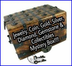 Gold, Silver, Jewelry, Coins, Diamonds, Gemstones & Collectibles Box