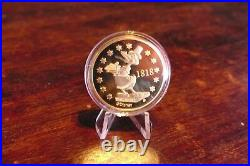 Goldcoin, Limited Edition Disney Cornelius Coot, Founder of Duckburg, 1 Taler