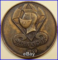 Golden Knights US Army Parachute Team Army Challenge Coin Vintage