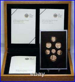 Great Britain 2008 Gold Proof Coin Collection Royal Shield of Arms