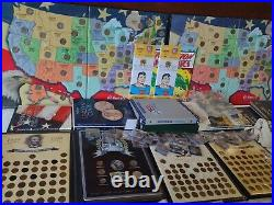 HUGE US Coin Collection over 100 pounds Solid gold, silver, 1850's to modern