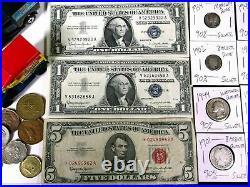 HUGE vintage JUNK DRAWER LOT jewelry GOLD & SILVER coins ESTATE bullion toys old