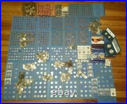 Huge Coin Lot Collection Gold, Silver, Key Dates 35+ pounds