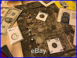 Huge Collection Estate Coin Lot Gold Silver Old Sets Type Morgan Dollars